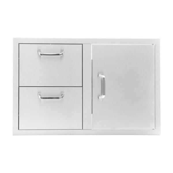Door & Drawer Combo Unit