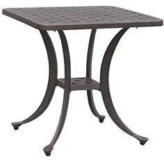 """21"""" Square Accent Table Weave"""