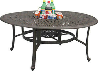 """52"""" Round Dining Table Signature (Ice Bucket or Fire Pit Optional)"""