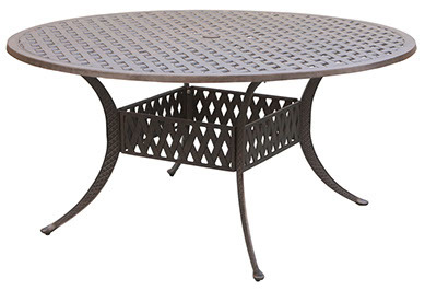 """60"""" Round Dining Table Weave"""