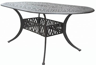 """72"""" x 42"""" Oval Dining Table Signature"""