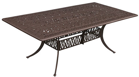 """84"""" x 60"""" Rectangle Dining Table Signature"""