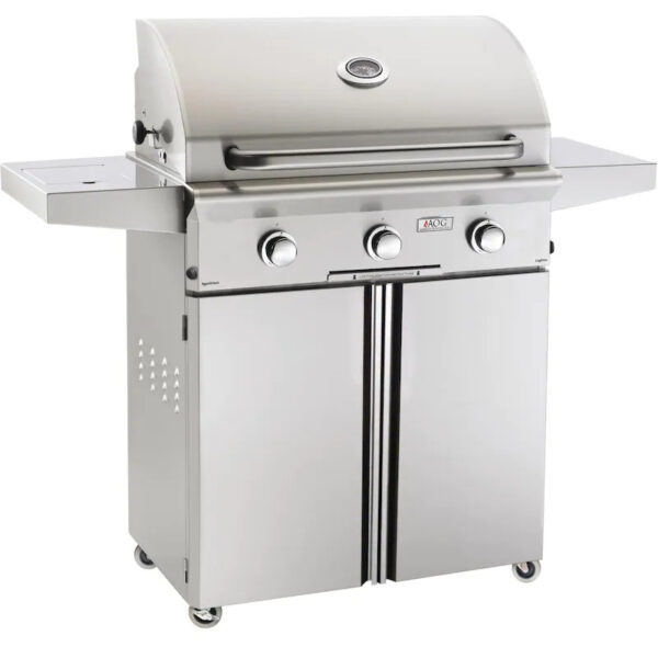 AOG L Series 30 Inch 3 Burner Freestanding Gas Grill Northern California Grills