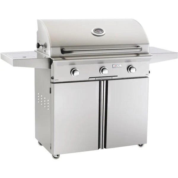 AOG L Series 36 Inch 3 Burner Freestanding Gas Grill Northern California Grills