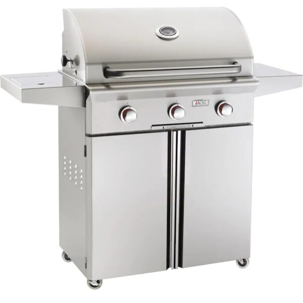AOG T Series 30 Inch 3 Burner Freestanding Gas Grill