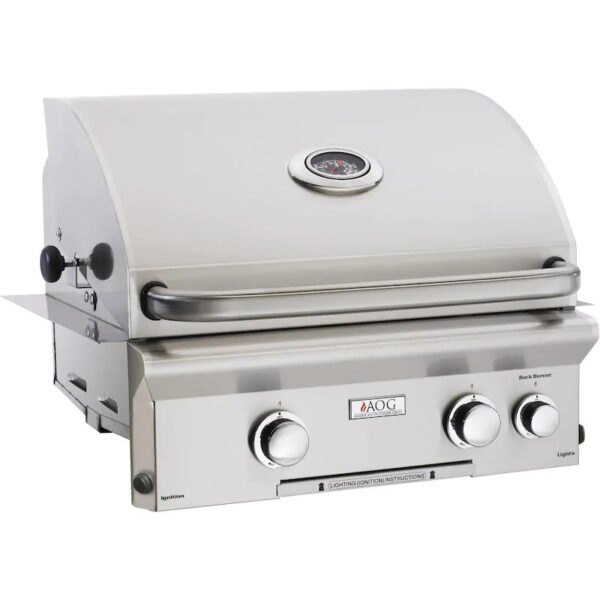 American Outdoor Grill L Series 24 Inch 2 Burner Built In Gas Grill With Rotisserie