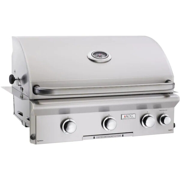 American Outdoor Grill L Series 30 Inch 3 Burner Built In Gas Grill With Rotisserie