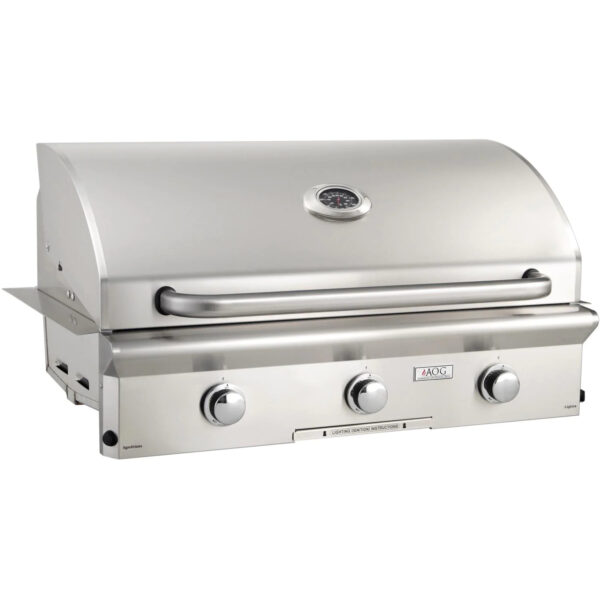 American Outdoor Grill L Series 36 Inch 3 Burner Built In Gas Grill