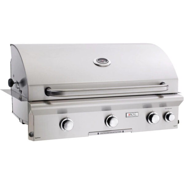 American Outdoor Grill L Series 36 Inch 3 Burner Built In Gas Grill With Rotisserie