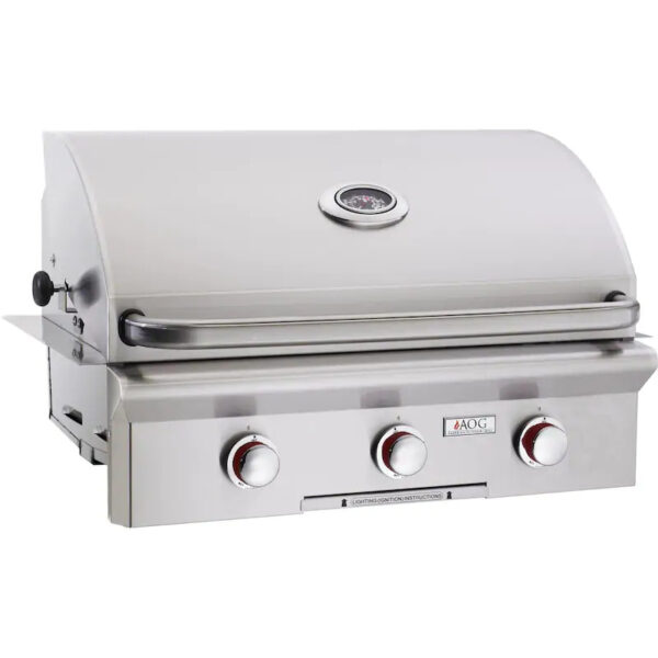 American Outdoor Grill T Series 30 Inch 3 Burner Built In Gas Grill