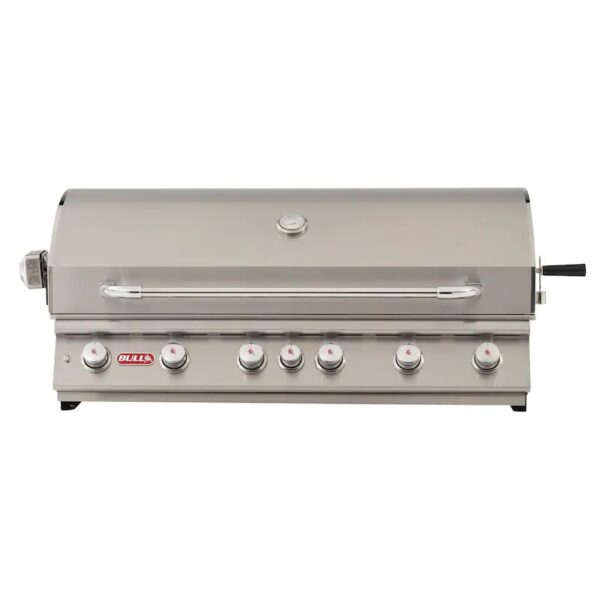 Bull Diablo 46 Inch 6 Burner Built In Gas Grill With Rotisserie