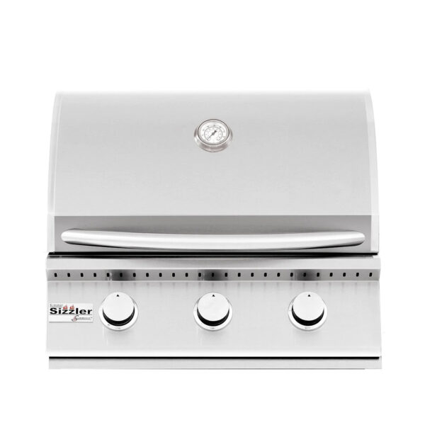 Summerset Sizzler 26 Inch 3 Burner Built In Gas Grill