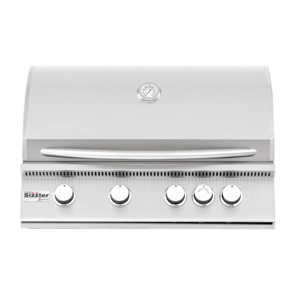 Summerset Sizzler 32 Inch 4 Burner Built In Gas Grill With Rear Infrared Burner