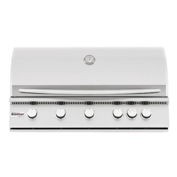 Summerset Sizzler 40 Inch 5 Burner Built In Gas Grill With Rear Infrared Burner