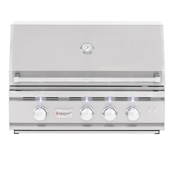 Summerset TRL 32 Inch 3 Burner Built In Gas Grill With Rotisserie