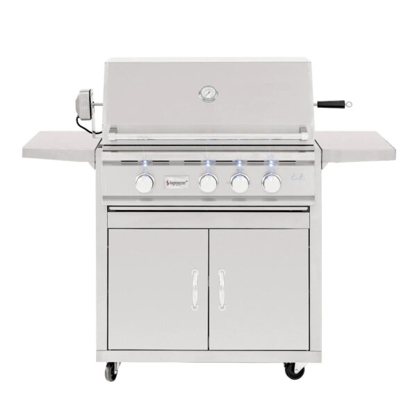 Summerset TRL 32 Inch 3 Burner Gas Grill With Rotisserie