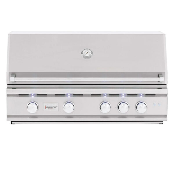Summerset TRL 38 Inch 4 Burner Built In Gas Grill With Rotisserie
