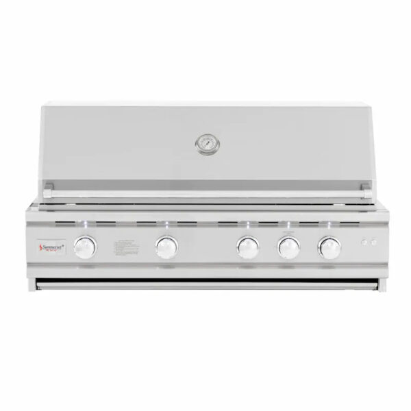 Summerset TRL Deluxe 44 Inch 4 Burner Built In Gas Grill With Rotisserie