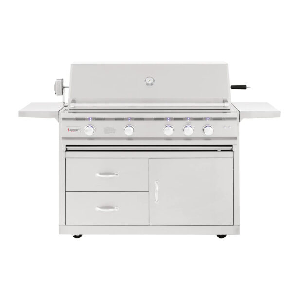 Summerset TRL Deluxe 44 Inch 4 Burner Gas Grill With Rotisserie
