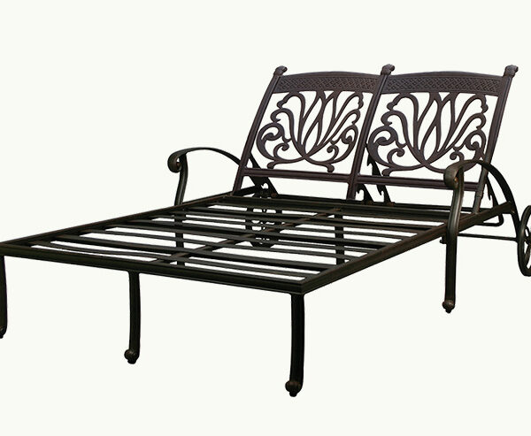 Ariana Double Chaise Lounger