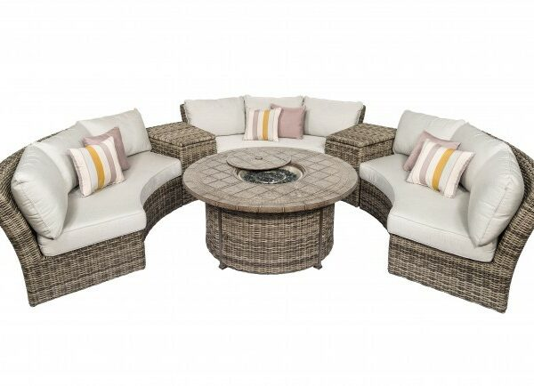 Athena Curved Circular Sofa