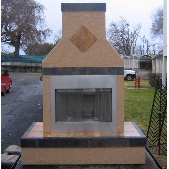 FIRE PLACE  6'x8'