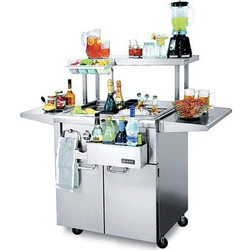 """Lynx 30"""" Cocktail Station With Sink & Ice Bin Cooler"""