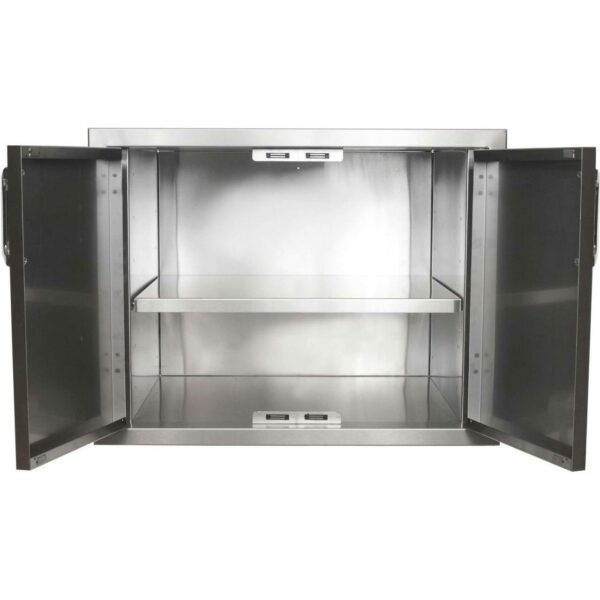 36''  Pantry With Double Doors