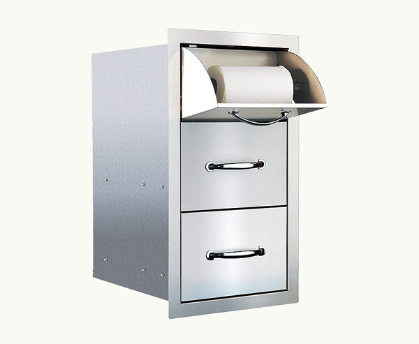 Towel Drawer and 2 Drawers Combo
