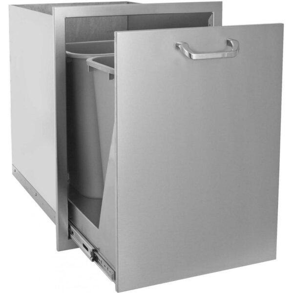 Roll-Out Double Trash / Recycling Bin